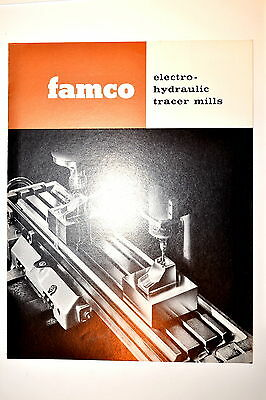 FAMCO ELECTRO-HYDRAULIC TRACER MILLS Milling Machine BROCHURE 1961 #RR471