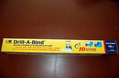 DuraTube (Drill-A-Bind Refills) 100 pc.(500mm ea)Value Pack /about 1000 bindings