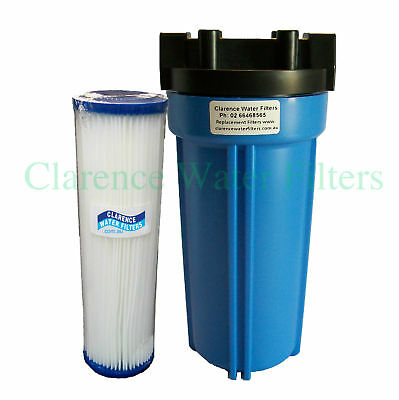 "Rain Water Tank 10"" Filter Housing & Washable Filter"