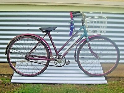 "Original Vintage Healing Ladies 24""  Bicycle with Retro Dress Finish"
