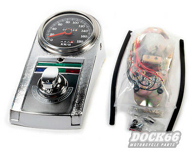 Late Style Dash Kit Harley Fat Boy Heritage, 2240:60
