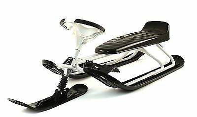 Stiga Snow Racer king Size GT  steering sleigh for adults with long seat
