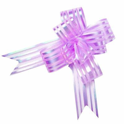 Small Butterfly Pull Bow-lilac X 10