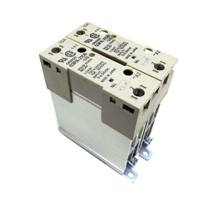 (Lot of 2) Omron G3PA-210B-US Solid State 10A Relays 24-240VAC