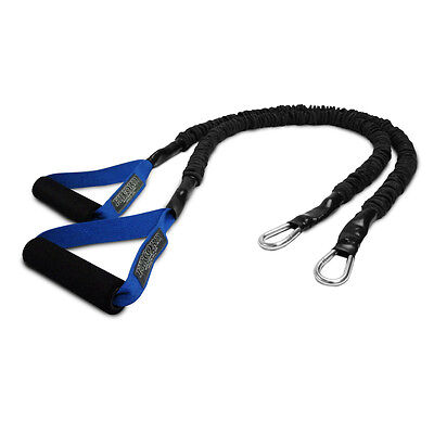 FitCord X-Over Resistance Bands for Crossover Training - 25lbs - One Pair