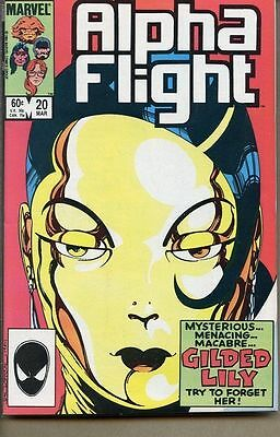 Alpha Flight 1983 series # 20 near mint comic book