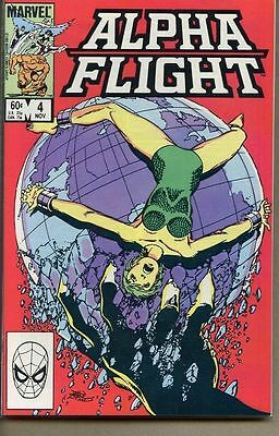 Alpha Flight 1983 series # 4 very fine comic book