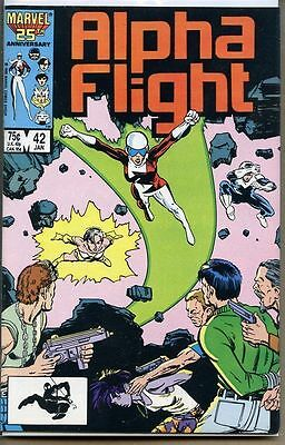 Alpha Flight 1983 series # 42 very fine comic book