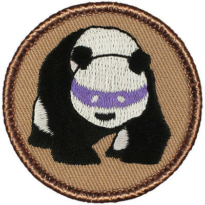 Sweet Boy Scout Patch - Ninja Panda Patrol! (#123)