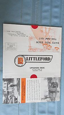 Littleford Brothers Chicago 1937 No. 101 Utility Sprayer Brochure-Gilpin County