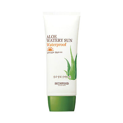 [SkinFood ] Aloe Watery Sun Waterproof SPF50+ PA+++  50ml - Korea Cosmetic