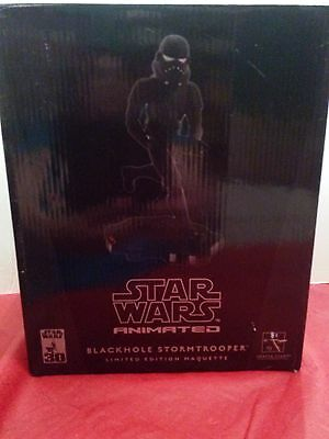 Star Wars Animated Black Hole Stormtrooper by Gentle Giant LIMITED EDITION 1000