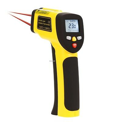 Non Contact Temperature 1050°C Pyrometer Laser Infrared Thermometer IR EA