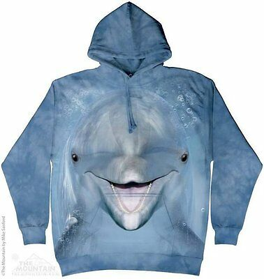 Dolphin Hoodie - adult size