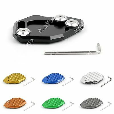Motorcycle Kickstand Side Stand Plate Pad Base For BMW F800GS F800 GS 2008-2013