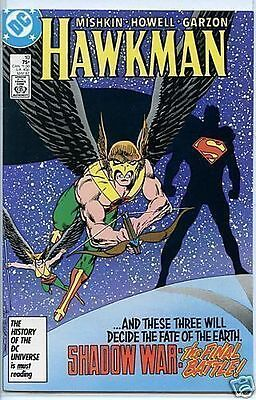 Hawkman 1986 series # 10 very fine comic book