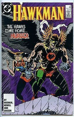 Hawkman 1986 series # 13 near mint comic book