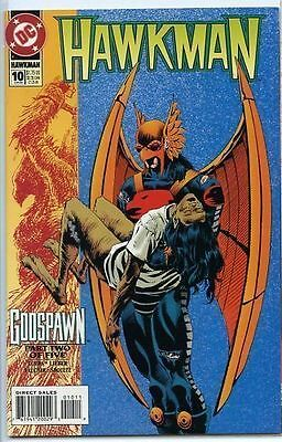 Hawkman 1993 series # 10 near mint comic book