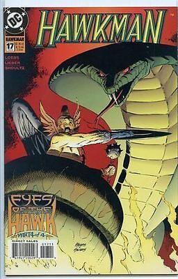 Hawkman 1993 series # 17 near mint comic book