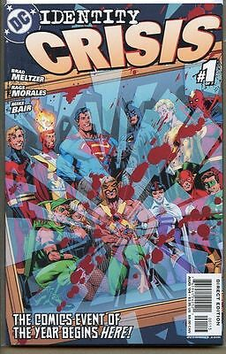Identity Crisis 2004 series # 1 C third printing near mint comic book