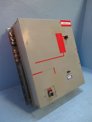 GE 8000 Series Powell Iso-Trol Size 4 Starter 200 Amp Fusible MCC Bucket 200A