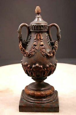 Bronze Vase w Pineapple Lid & Bird Alexander Movie Prop