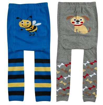 Tick Tock Baby Boys Cotton Rich Design Leggings