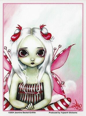 PEPPERMINT PRETTY Fairy Sticker Car Decal Jasmine Becket-Griffith Strangeling