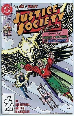 Justice Society of America 1991 series # 6 near mint comic book