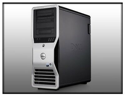 Dell Precision T5500 Dual Xeon X5660 2.8Ghz Six-Core Tower Workstation