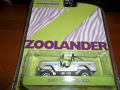 Greenlight 1/64 Hollywood Series 6 Zoolander Silver 1967 Ford Bronco