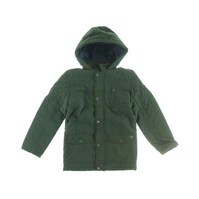 French Connection 1472 Boys Quilted Hooded Outerwear Coat Jacket BHFO
