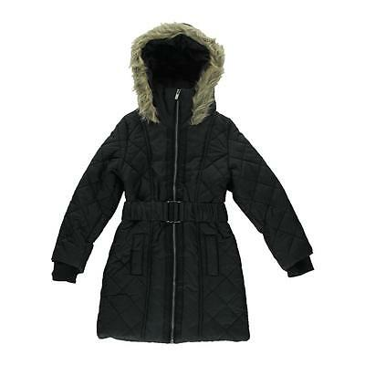 French Connection 1628 Girls Hooded Outerwear Coat Jacket BHFO