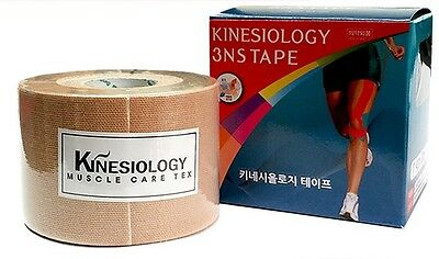 3NS Premium Kinesiology Tape Sports Muscle Care Tex 9 Colors Korea Free Gift