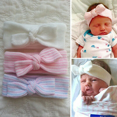 Newborn Baby Girl Headband Infant Toddler Bow Hair Band Girls Accessories 2U