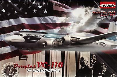 """rd307/ RODEN - Douglas VC-118 """"The Independence"""" - 1/144 - TOPP MODELL"""