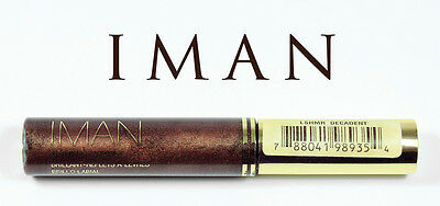 IMAN BRILLANT REFLETS A LEVRES DELUXE LIP SHIMMER DECADENT 7g MARQUE USA K