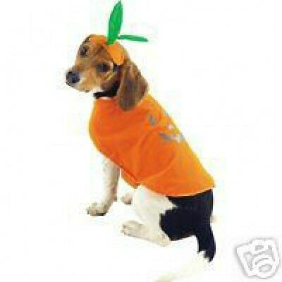 PUMPKIN PUP Dog Pet Halloween Costume XS S M L XL