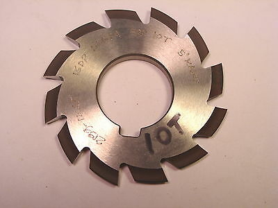 "NOS Decovich CAN 2-1/2"" Dia. Involute Gear Cutter 16 DP 14-1/2 PA #1 for 10T"