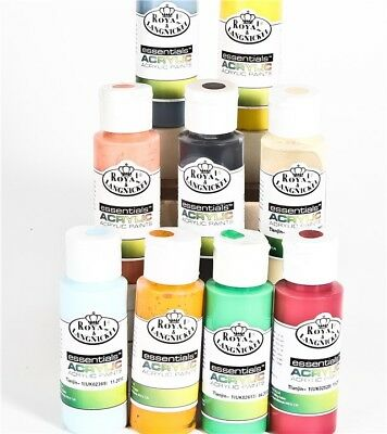 Acrylic Hobby Artist Paint 25 Bottles Pick Frm 58 cols