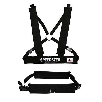 Speed Training Harness & Belt with Tow Lines by Speedster Training Equipment