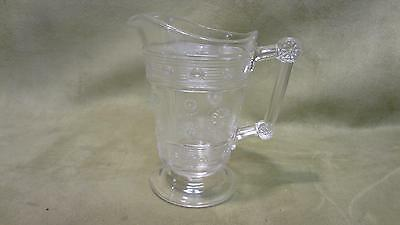 Eapg Us Glass Bryce Rosette Magic Comport Compote 1891 Pattern Glass pitcher