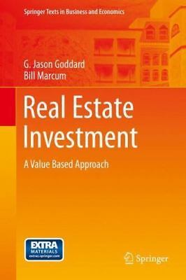 Springer Texts in Business and Economics Ser.: Real Estate Investment : A...