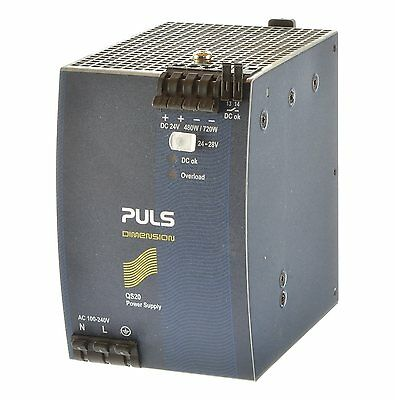 Puls QS20.241 DC Stromversorgung In AC 100-240V / Out DC 24-28V /20A
