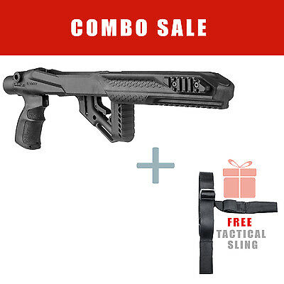 Fab Defense Stock Conversion Kit for Ruger 10/22 w/ Free Sling UAS R10/22 S