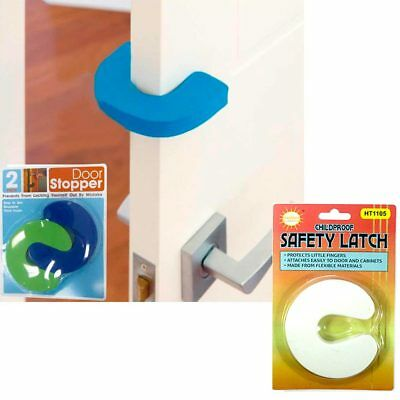 4Pc Children Safety Finger Baby No Pinch Guard Foam Door Stopper Cushion Safety