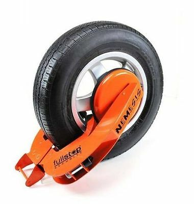 Nemesis STD Fullstop Security Caravan  Wheel Clamp