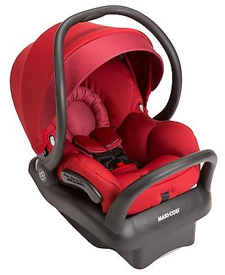 Maxi-Cosi Mico Max 30 Air Protect Infant Baby Car Seat w Base Red Rumor NEW
