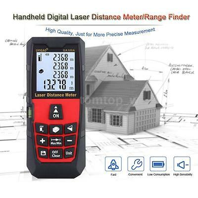 100m Handheld Digital Laser Distance Meter Range Finder Measure Diastimeter W2G6