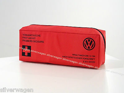 Genuine VW First Aid Kit. High Quality German Made Golf Polo Tiguan Up NEW!